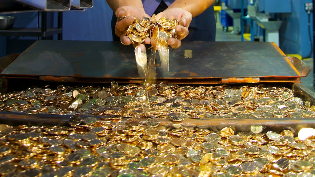 Gold Rush: surveys confirm the loonie has Canadian icon status.